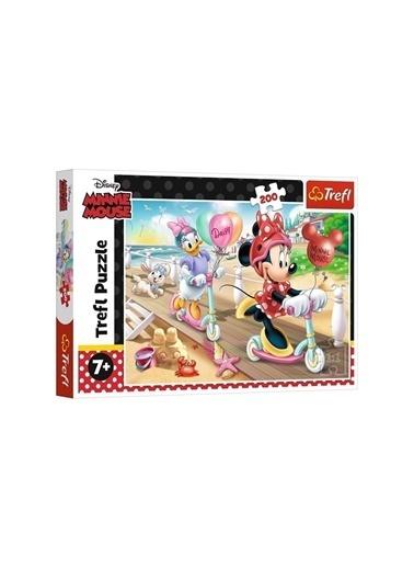 Art Puzzle Art Puzzle Minnie Mouse Minnie On The Beach 200 Parça Puzzle Renksiz